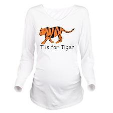 Tiger10.png Long Sleeve Maternity T-Shirt