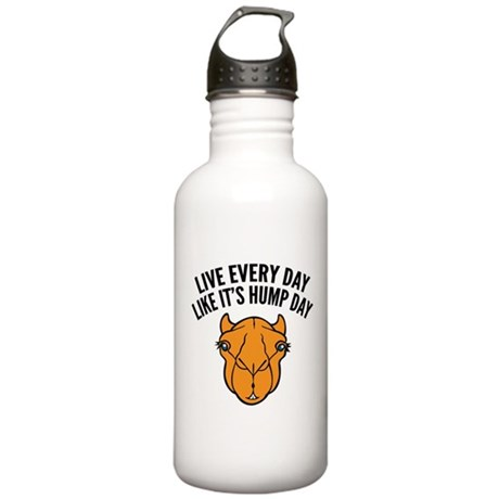 Live Every Day Like It's Hump Day Stainless Water