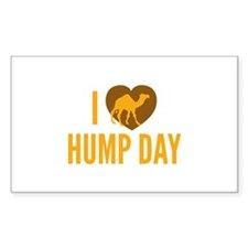 I Love Hump Day Decal