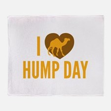 I Love Hump Day Stadium Blanket