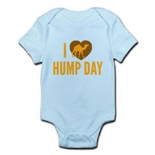 I Love Hump Day Infant Bodysuit
