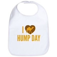I Love Hump Day Bib