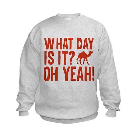 What Day Is It? Oh Yeah! Kids Sweatshirt