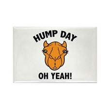 Hump Day Oh Yeah! Rectangle Magnet (100 pack)