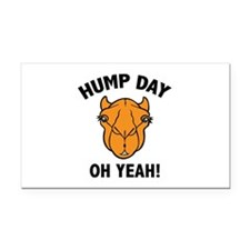 Hump Day Oh Yeah! Rectangle Car Magnet