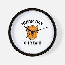 Hump Day Oh Yeah! Wall Clock