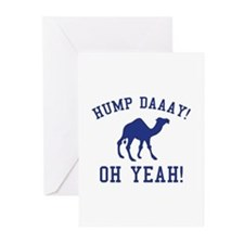 Hump Daaay! Oh Yeah! Greeting Cards (Pk of 10)