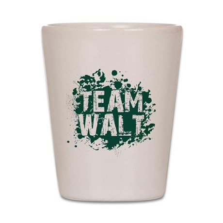 Team Walt Shot Glass