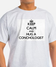 Keep Calm and Hug a Conchologist T-Shirt