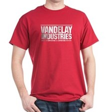 Vandelay Import Export T-Shirt Cardinal Red