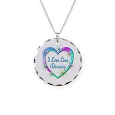 I Love Line Dancing Necklace