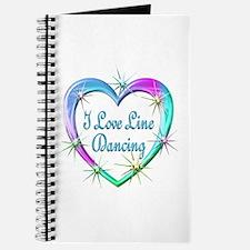 I Love Line Dancing Journal