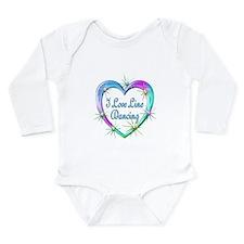 I Love Line Dancing Long Sleeve Infant Bodysuit