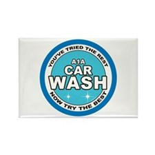 A1A Car Wash Rectangle Magnet