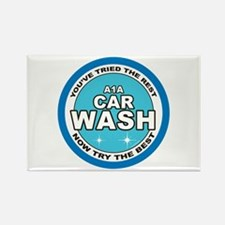A1A Car Wash Rectangle Magnet