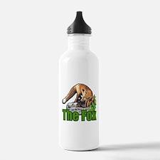 Blue eyed fox Water Bottle