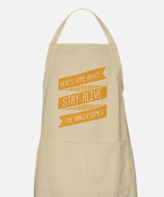 Hand Drawn Stay Alive Apron