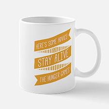 Hand Drawn Stay Alive Mugs