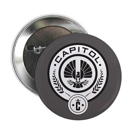 "Hunger Games Capitol 2.25"" Button (100 pack)"