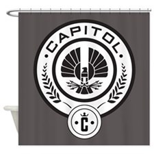 Hunger Games Capitol Shower Curtain