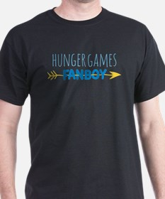 Hunger Games Fanboy Blue T-Shirt