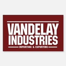 Vandelay Importing Exporting Rectangle Decal