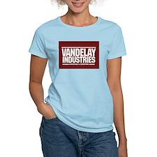Vandelay Import Export Women's Pink T-Shirt