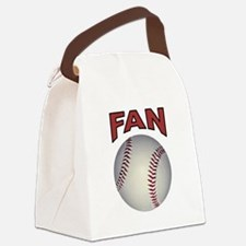 BASEBALL FAN Canvas Lunch Bag