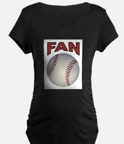 BASEBALL FAN Maternity T-Shirt