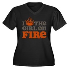 I Fire the Girl on Fire Plus Size T-Shirt