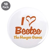 "I Heart Beetee 3.5"" Button (10 pack)"