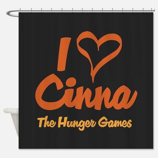 I Heart Cinna Shower Curtain