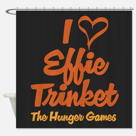 I Heart Effie Shower Curtain