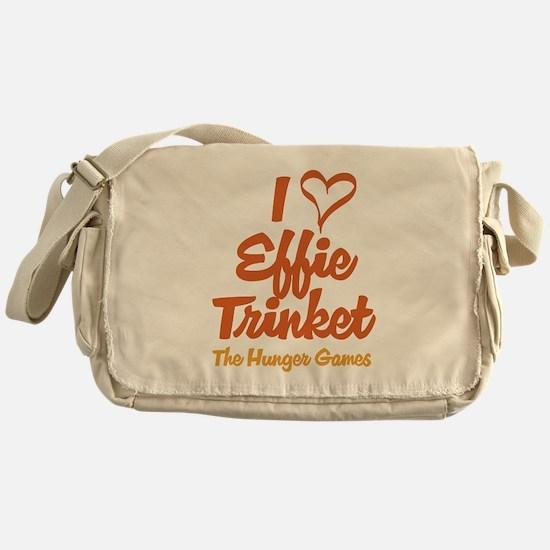I Heart Effie Messenger Bag