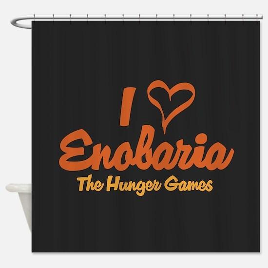 I Heart Enobaria Shower Curtain