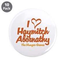 "I Heart Haymitch 3.5"" Button (10 pack)"