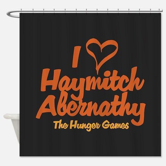 I Heart Haymitch Shower Curtain