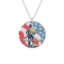 Molon Labe Minute Man Necklace