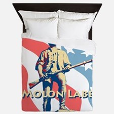 Molon Labe Minute Man Queen Duvet