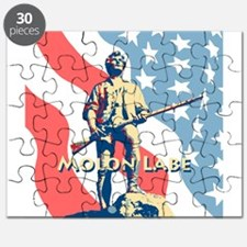 Molon Labe Minute Man Puzzle