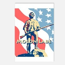 Molon Labe Minute Man Postcards (Package Of 8)