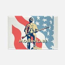 Molon Labe Minute Man Rectangle Magnet
