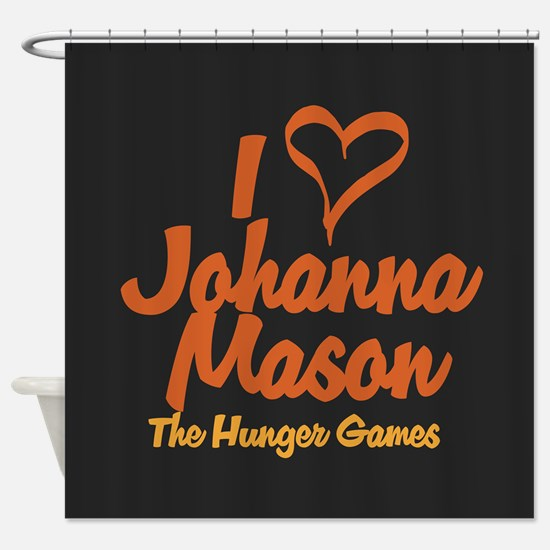 I Heart Johanna Shower Curtain
