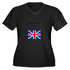 Bollocks Plus Size T-Shirt