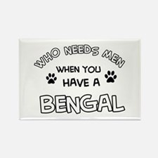 Cool Bengal designs Rectangle Magnet