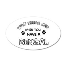 Cool Bengal designs Wall Decal
