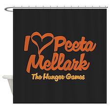 I Heart Peeta Shower Curtain