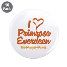 "I Heart Primrose 3.5"" Button (10 pack)"