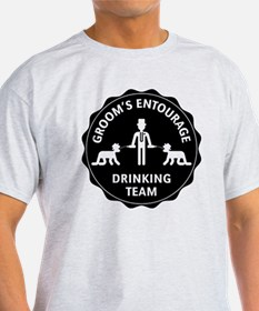 Groom's Entourage – Drinking Team T-Shirt