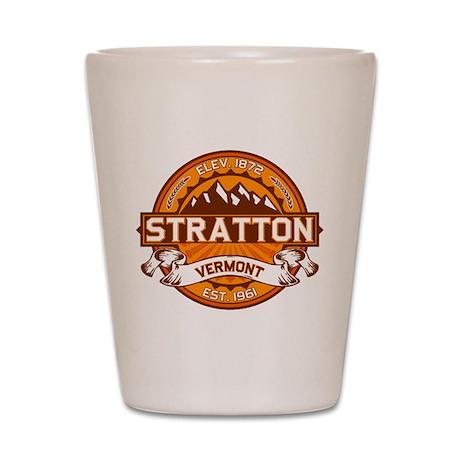 Stratton Tangerine Shot Glass